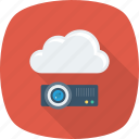 cloud, device, projection, projector