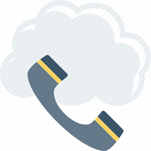 Call, cloud, mobile, phone, telephone icon - Download on Iconfinder
