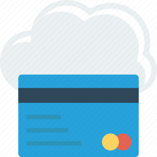 Cloud, debit, with icon - Download on Iconfinder