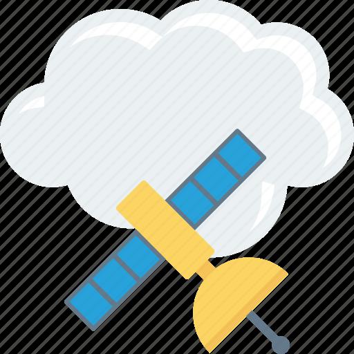 Cloud, computing, satellite, sharing icon - Download on Iconfinder
