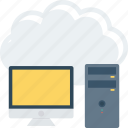 cloud, computer, storage icon