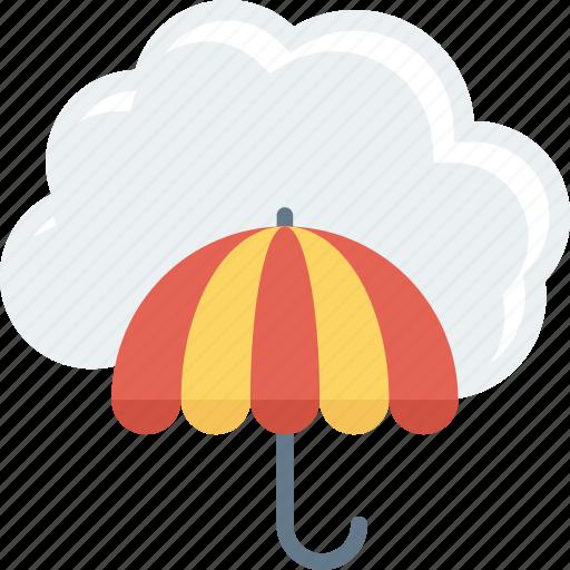 cloud, protection, umbrella, weather icon