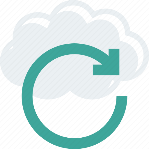 cloud, refresh, reload icon