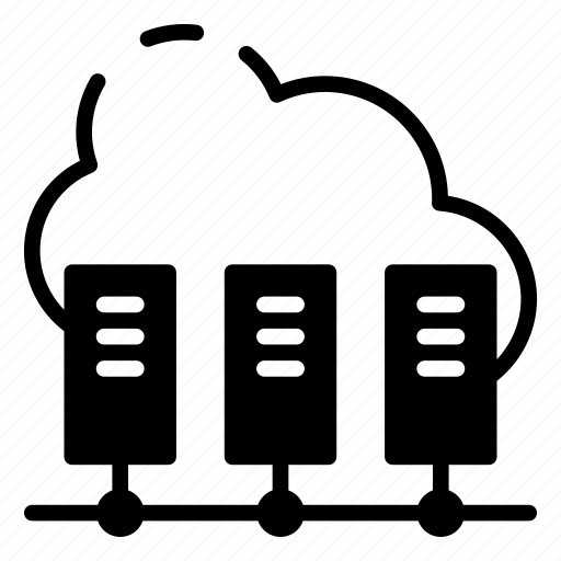 cloud, database, datacenter, server, sharing icon