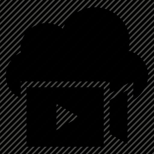 camera, cloud, computing, media, movie, video, weather icon