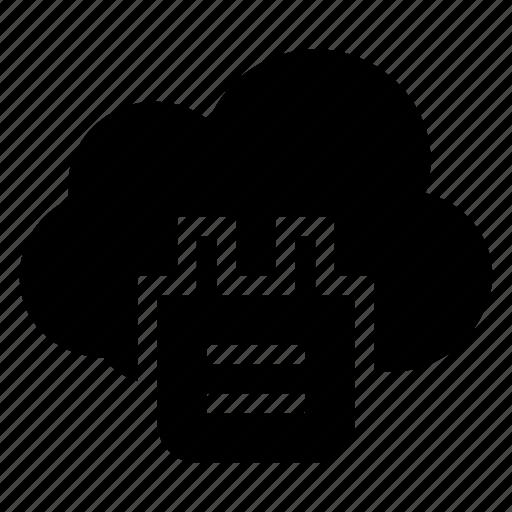 cloud, computing, piece, plug, plugin, puzzle, weather icon