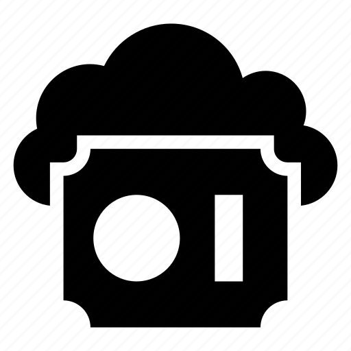 cloud, computing, protection, safety, security, shield, weather icon