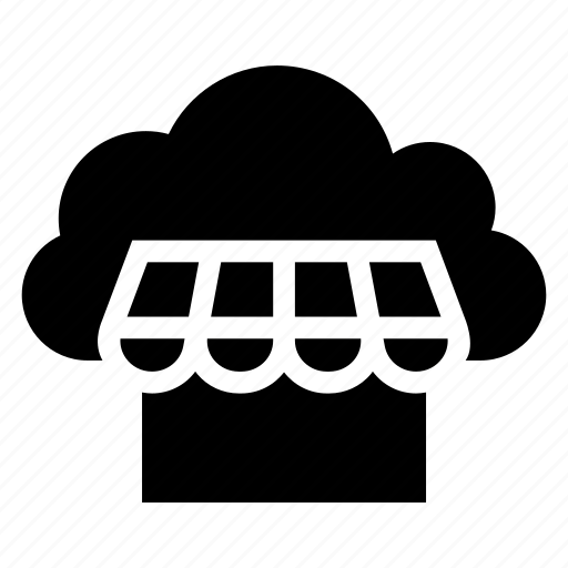 buy, cloud, computing, ecommerce, shop, store, weather icon