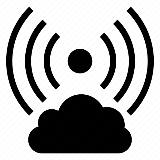 cloud, computing, network, signal, weather, wifi, wireless icon