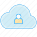 avatar, cloud, person, account, human, people, profile, user, users