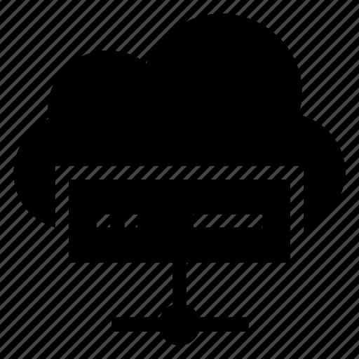 cloud, computing, data, database, server, storage, weather icon
