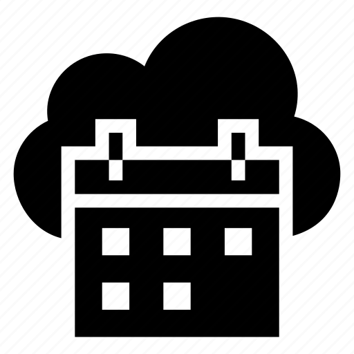 calendar, cloud, computing, date, day, schedule, weather icon