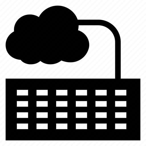 cloud, computer, computing, device, key, keyboard, weather icon