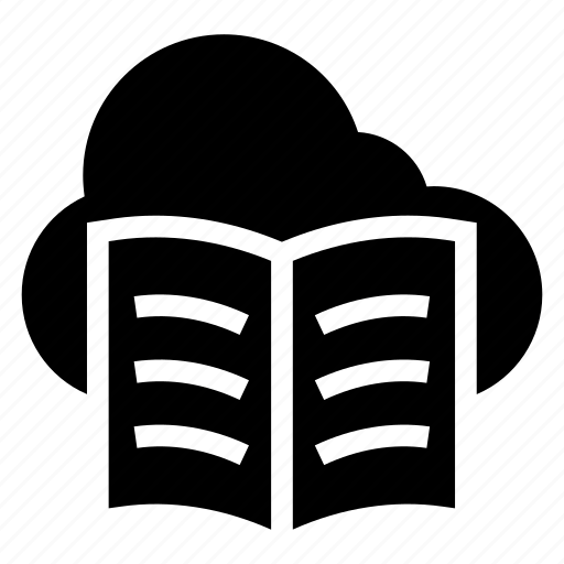 cloud, computing, content, document, file, text, weather icon