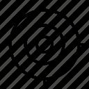 achievement, dartboard, focus, goal, target icon