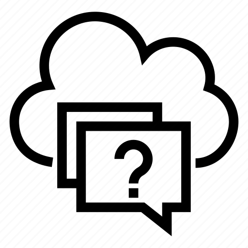 bubble, cloud, communication, computing, message, talk, weather icon