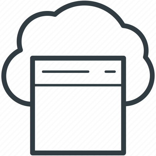 cloud computing, cloud storage, data storage, web element, web page icon