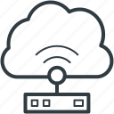 broadband connection, broadband network, wireless fidelity, wlan icon