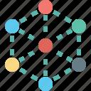 atom, electron, molecule, physics icon