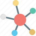 connection, network, share, sharing icon