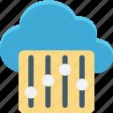 cloud maintenance, cloud repair service, cloud setting, network setting icon