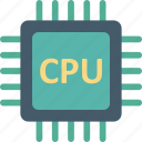 computer chip, integrated circuit, memory chip, microprocessor icon