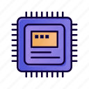 computer, cpu, hardware, storage icon