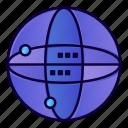 computing, globe, internet, world icon