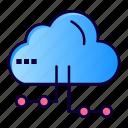 cloud, computing, network, share