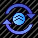 arrow, computing, refresh, reload icon