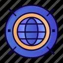 computing, internet, web, world icon