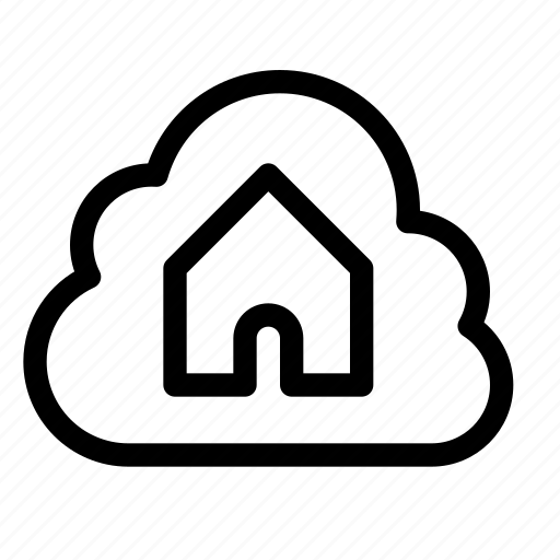 cloud, data, home, homepage, online, server icon