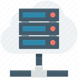 database sharing, information access, server hosting, server share, shared info icon