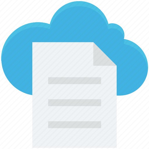 cloud storage, digital storage, file storage, online docs, sky docs icon