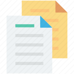 document, extension files, file, sheet, text document icon