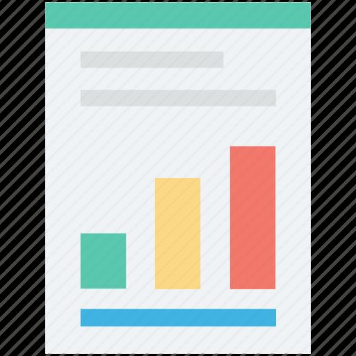 analytics, bar chart, bar graph, graph, statistics icon