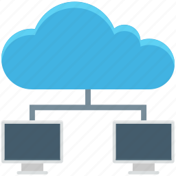 cloud computing, cloud network, cloud sharing, cyberspace icon