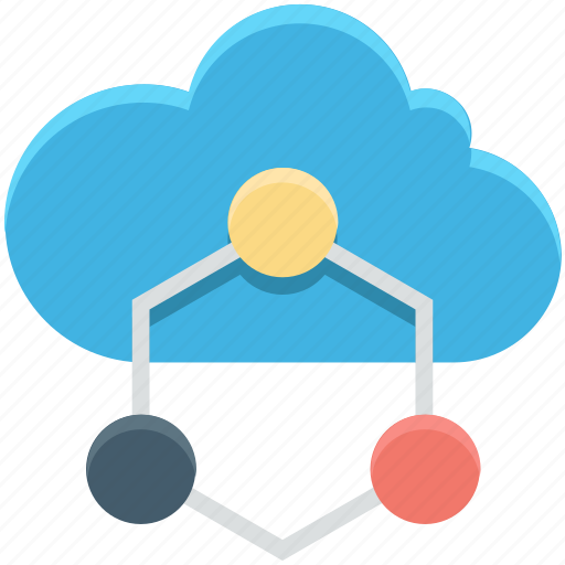cloud computing, cloud network, cloud sharing, network sharing, server cloud icon