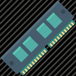 computer hardware, computer ram, hardware, memory chip, ram icon