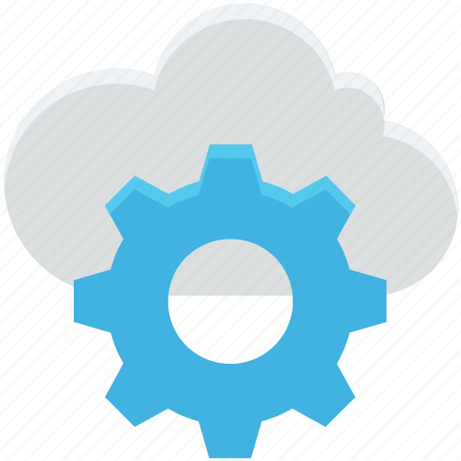 cloud maintenance, cloud repair service, cloud settings, network settings, settings icon