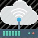 broadband connection, broadband network, modem, wireless fidelity, wlan icon