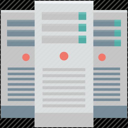 cloud upload, database, network server, server, server storage, web hosting icon