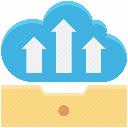 cloud data transmission, cloud tray, cloud upload, cloud uploading, tray icon