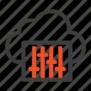 audio, cloud, connection, music