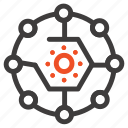 computing, connectivity, network, share icon