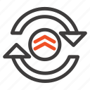 arrow, computing, refresh, reload