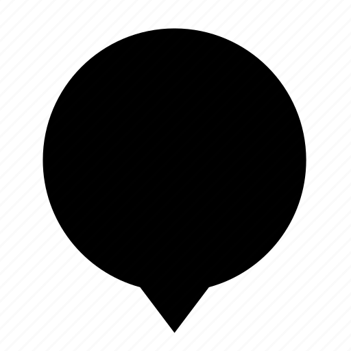blank, center, chat, cloud, dialogue icon