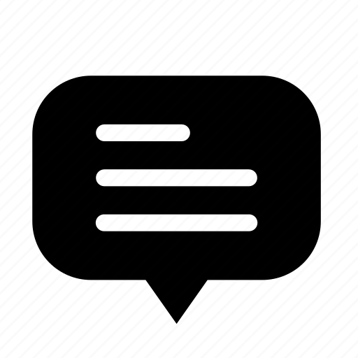 center, circle, cloud, dialogue, rounded, text icon