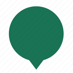 blank, center, chat, cloud, cloudy, dialogue icon