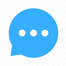 chat, cloud, cloudy, dialogue, left icon